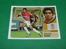 MOHAMED MAZHAR AS MONACO ASM LOUIS II PANINI FOOT 2003 FOOTBALL 2002-2003