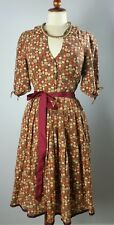 Anthropologie Dress Size 10 Edme Esyllte Sugar Coated Vintage style EU 38