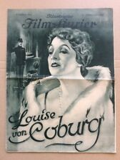 Louise von Coburg (BFK 640, 1927) - Erna Morena / Stummfilm