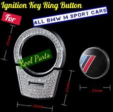 Crystal Start Ignition Key Ring Button for all BMW M Sport Cars