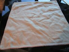 """Williams Sonoma ivory cashmere pillow cover 18"""" New without tag"""