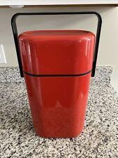 VTG Red BYO Décor 545 Australia Insulated 2 Bottle Wine Cooler Box Carrier READ