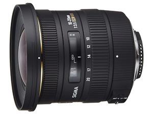 Sigma 10-20mm f3.5 EX DC HSM Lens for Nikon Digital SLR Cameras  UK STOCK
