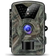 Victure IP66 Wildlife Trail Camera 12MP 1080P HD Infrared Cam