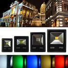 10W-50W LED Flood Light RGB Cool Warm White Work Wall Spot Floodlights IP65 240V