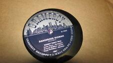 SONNY TERRY TRIO GRAMERCY 78 RPM RECORD 1005 HOOTIN BLUES / DANGEROUS WOMAN