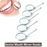1PC Dental Mirror Dentist Stainless Steel Handle Tool for Teeth Cleaning