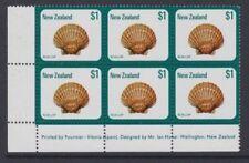 Decimal New Zealand Stamp Blocks