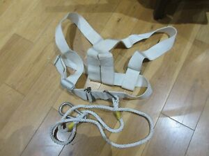 Safety Harness with lanyard. From a sailing yacht.