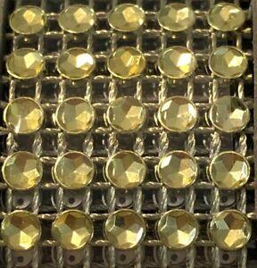 Diamond Wrap Rhinestone Ribbon 6 Feet X 1 Inch Bling Craft Supply Wedding Gold