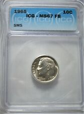 1965 SMS Roosevelt 10c ICG Certified MS67 FB