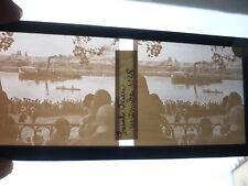 PLAQUE DE VERRE PHOTOGRAPHIE ANCIENNE SAINT-OUEN SEPTEMBRE 1928