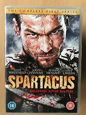 Spartacus - Blood And Sand - Season 1 Roman Gladiator Epic Series UK DVD Box Set