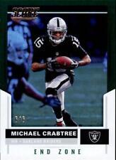 2017 Score End Zone #126 Michael Crabtree 6/6