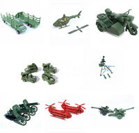 1pc Military Truck Gun Weapon Model Army Men Toy Soldier Accessory 8 Styles