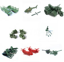 1pc Military Truck Gun Weapon Model Army Men Toy Soldier Accessory 8 Styles Motorcycle