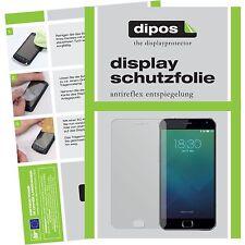 2x Meizu MX4 Pro Schutzfolie matt Displayschutzfolie Folie dipos Displayfolie
