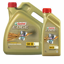 Castrol EDGE Titanium 5W-30 5W30 LL Full Synthetic Engine Oil 5 Litres 4 + 1L