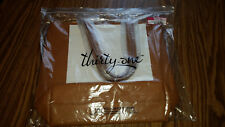 """BRAND NEW Thirty-one """"Around Town Tote"""" bag in Caramel Charm Pebble"""