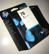 Genuine HP 78 C6578DN Tri-Color Ink  OEM New Open Box Guaranteed To Function