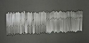 """Vintage Replacement 8"""" Glass Rods for Chandelier Tube Swizzle Stick"""