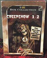 Creepshow 1 e 2 DVD Box Collection 2 Dischi Digipack G. Romero Come da Foto N