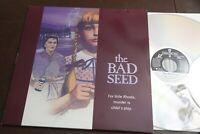 The Bad Seed 2 Laserdisc LD NM Rare Patty McCormack Horror 1956 Classic 1992 rel