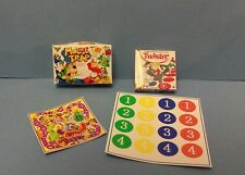 Dollhouse Miniature 1:12 scale set  2 Games Box & board, Mouse Trap & Twister