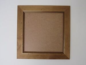 Antique Pine Real Wooden 6x6 Square Picture Photo Frame Hang