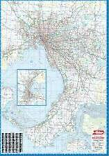 NEW Laminated Wall Maps - VIC Melbourne Standard Wall Map