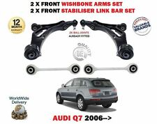 POUR AUDI Q7 2006-> AVANT 2x BRAS DE SUSPENSION 2x BARRE ANTI-ROULIS BARS KIT