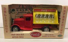 Coca-Cola 1930s Bottling Truck - 2001 Stamped Steel Gearbox Replica MIB