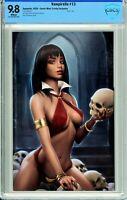 Vampirella #13 Comic Mint / Trinity Comics Virgin Exclusive - CBCS 9.8!