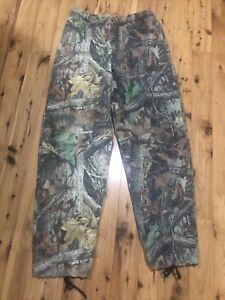 SCENT-LOK Advantage Timber Camouflage Warm Hunting Pants Elastic Waist Mens M