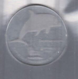 Kongo  10 Francs  2004  Glas  Delfin