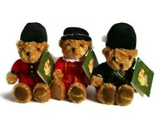 Set of 3 Harrods Knightsbridge London Beefeater Character Bean Bears