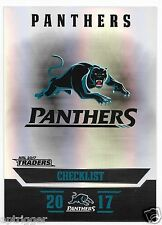 2017 NRL Traders Parallel Special (PS101) PANTHERS Check List