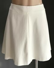 NWT Cream BANANA REPUBLIC A-Line Mini Skirt Size 14 RRP$69.50