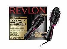 REVLON Salon One-Step Hair Spazzola Asciugacapelli e Volumizzante - Nera/Rosa (RVDR5222)