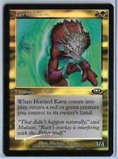 Magic MTG - Horned Kavu (FOIL) - Planeshift - dent at top