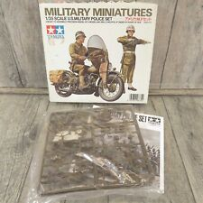 TAMIYA - 1:35 - Military Miniatures US Military Police Set - OVP - #AM46123