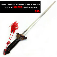 Chinese Martial Arts Kung Fu Tai Chi New Sword Retractable Practice Performance