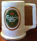 Carlsberg Beer Ceramic Beer Stein / Tankard - 1988 The Franklin Mint - NM HTF