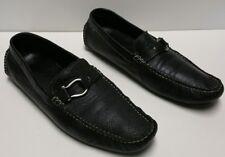 Bacco Bucci Studio Tiger Black Loafers casual slip-on Shoes Men 12M original box