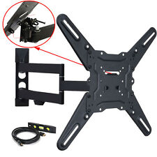 "Articulating Tilt TV Wall Mount for Samsung 32 39 40 43 46 48 50 55"" LED LCD CH6"