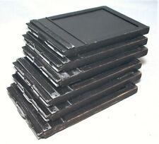 6 Graflex Type 5 4X5 Sheet Film Holders With Dark Slides
