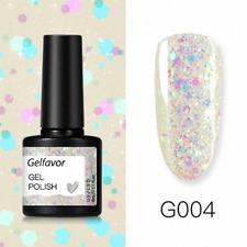 Gel Nail Polish Varnish Lacquer Glitter Nail Art Décor Manicure UV LED Soak Off