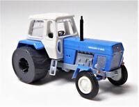 TT BUSCH Traktor Fortschritt ZT 303 -C blau weiß Eisenräder DDR Ackertier # 8700