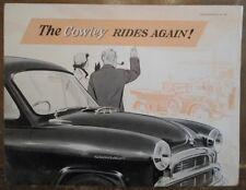 MORRIS COWLEY 1200 orig 1955 UK Mkt Sales Brochure - BMC H&E 557