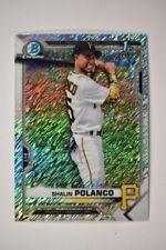 2021 Bowman Chrome Base Shimmer #BCP-222 Shalin Polanco - Pittsburgh Pirates